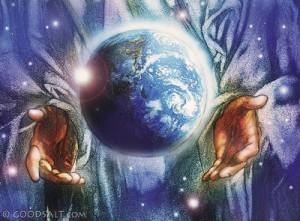 God created earth