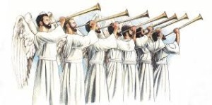 engelen trompetten
