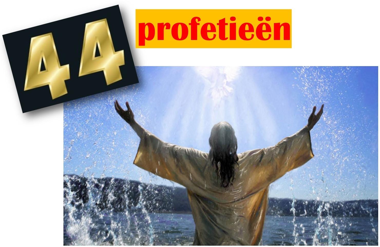 44 profetieen