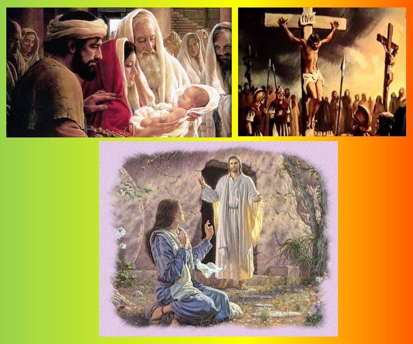 het levensverhaal van jezus