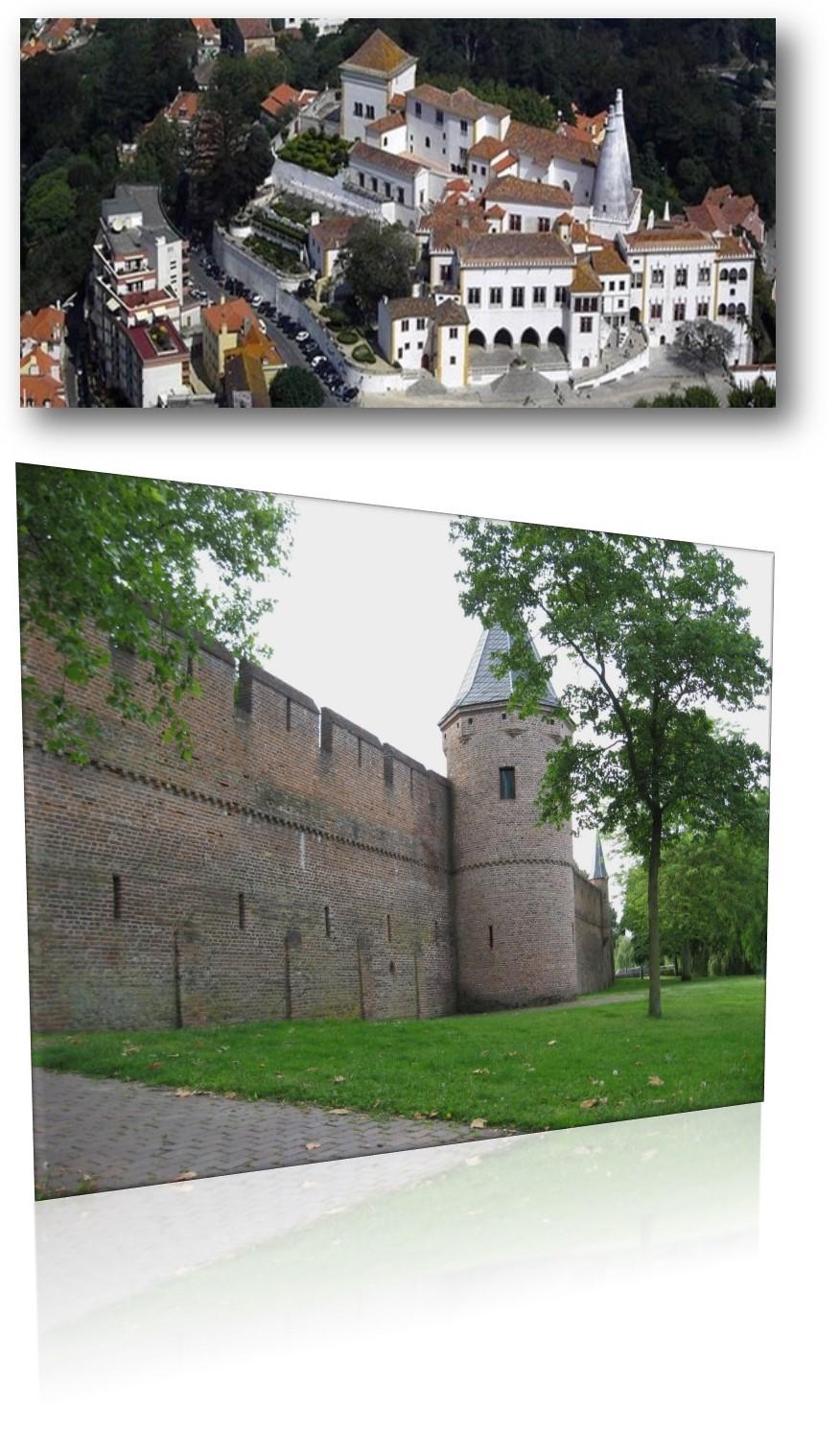 oud muur