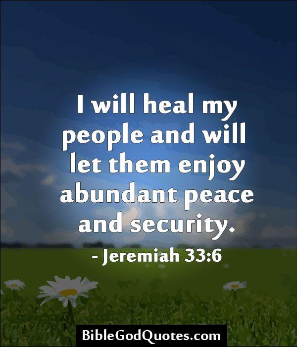 heal my people