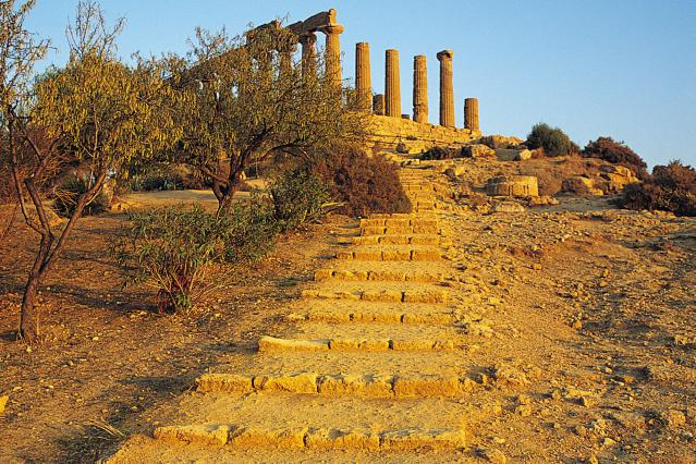 Temple of Juno, Agrigento, Sicily, Italy