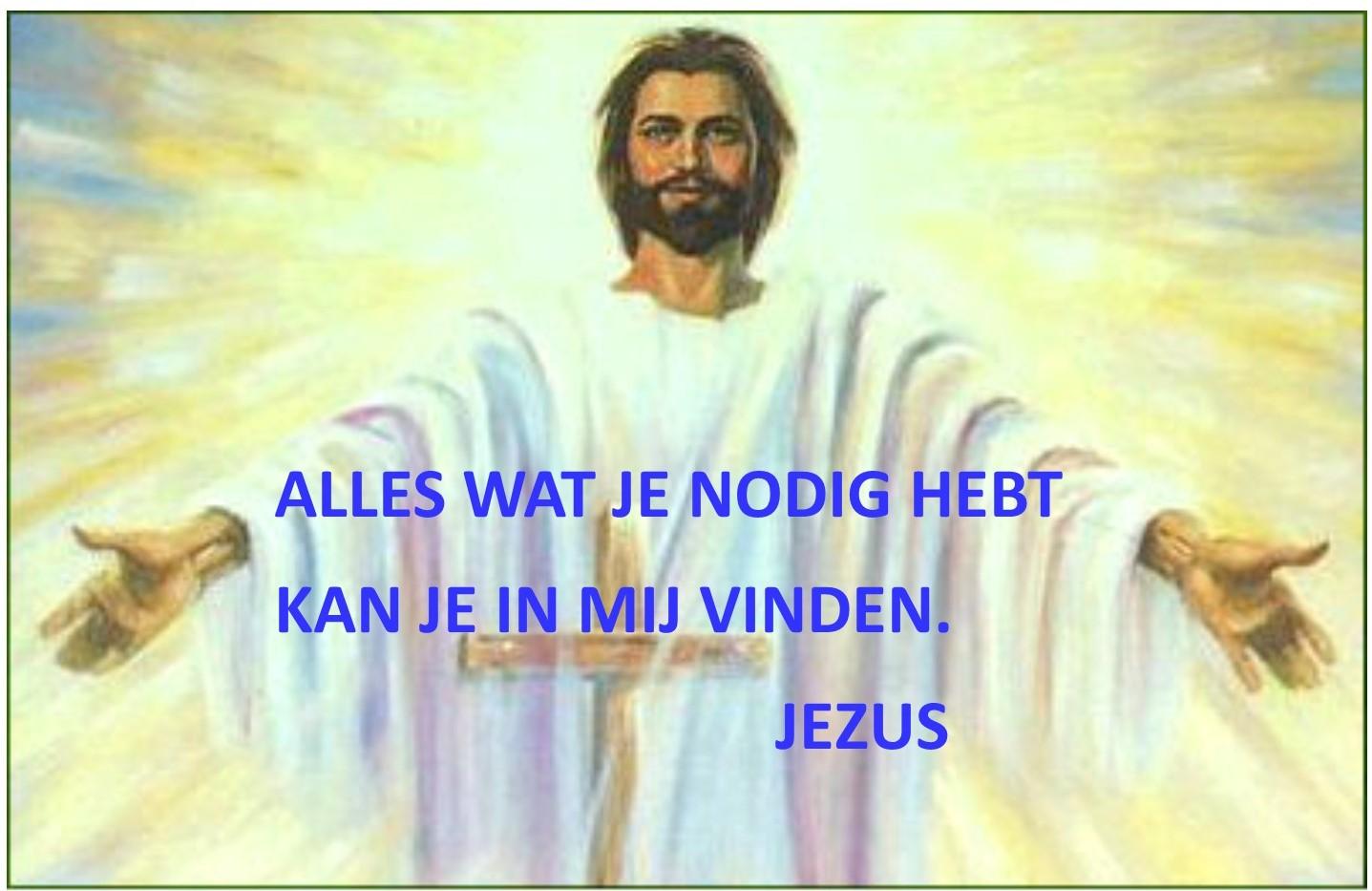 in jezus vinden