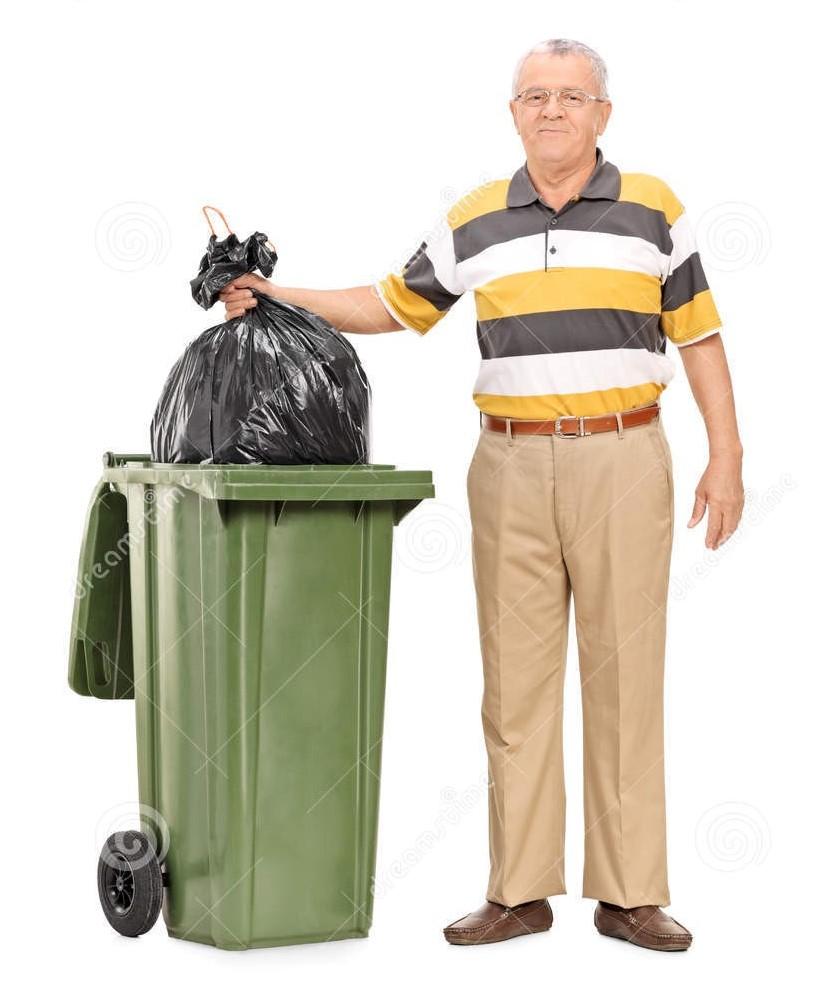 oudstediehet afval weggooien